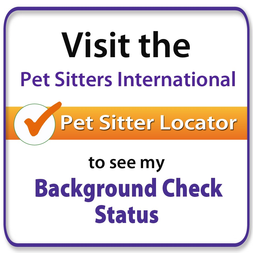 We are bonded, insured, & have passed PSI's background check